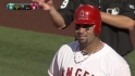 Pujols&#039; second RBI single