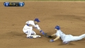 Hamilton throws out Hosmer