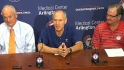 Rangers HOF news conference