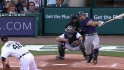 Dozier&#039;s three-run homer