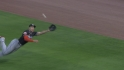 Stanton&#039;s diving catch