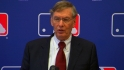 Selig addresses media