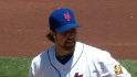 Dickey&#039;s eight strikeouts