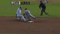 Halladay picks off DeJesus