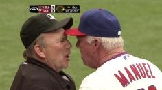 Manuel gets ejected