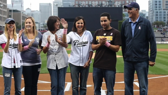 Michelle Jenkins named honorary bat girl