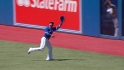 Bautista's running catch