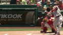 Aviles&#039; leadoff homer