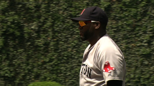 Ortiz to play first base for Red Sox in Philadelphia
