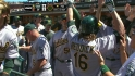 Reddick&#039;s two-run shot