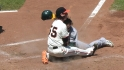Lincecum withstands collision