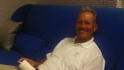 George Brett visits the Fan Cave