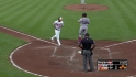 Markakis&#039; bases-loaded walk