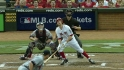 Leake&#039;s first career homer