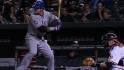 Los cuatro jonrones de Josh Hamilton vs. Orioles