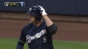 Braun's RBI single