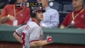 Harper flies out against Hamels