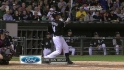 Konerko&#039;s solo dinger
