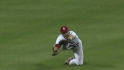 Schumaker's diving grab