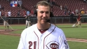 Frazier on his walk-off homer