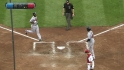 Bourn&#039;s two-run homer