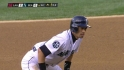 Ichiro steals second