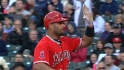 Pujols' three hits