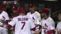 Holliday's solo blast