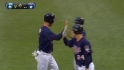 Dozier's two-run double