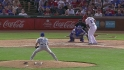 Igarashi strikes out Beltre