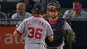Clippard notches the save
