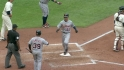 Dirks' two-run double