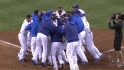Ellis' walk-off homer