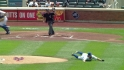 Dickey's diving stop