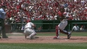 Furcal gets an out at home