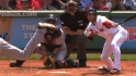 Red Sox take advantage of call