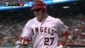 Trout&#039;s solo homer
