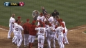 Trumbo's walk-off homer