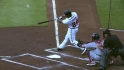 Bourn's leadoff shot