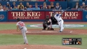 Gonzalez&#039;s first MLB strikeout
