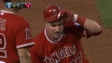 Trout's RBI triple