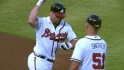 Uggla's three-run blast