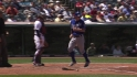 Moustakas' RBI double