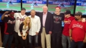 Phillies visit the Fan Cave