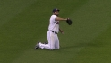 Damon&#039;s diving catch