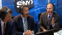 Mets broadcasters on Santana