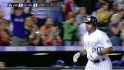 Rosario&#039;s two-run shot