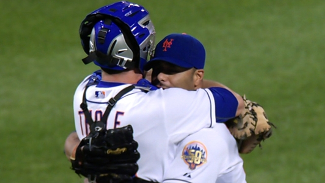 Collins reflects on anniversary of Johan's no-no