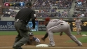 Cabrera cut down at third
