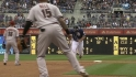 Parra doubles off Alonso